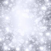 foto of descending  - snowflakes and stars descending on background - JPG