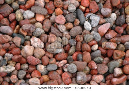 Red Pebbles