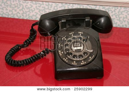 old school telephone