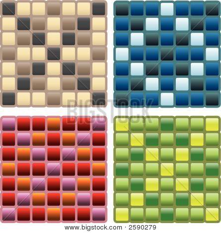 Square Seamless Pattern