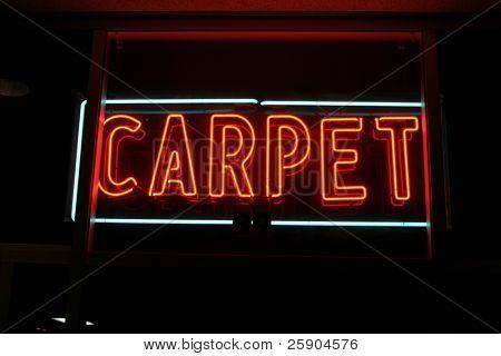 Neon Sign series  carpet