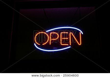 Neon Sign series  open
