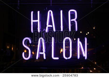 """neon sign series"" ""hair salon"""