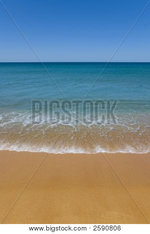 Perfect Beach Sand Copyspace