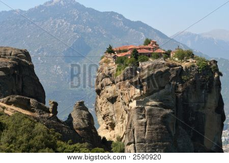 Meteors Monasteries In Greece