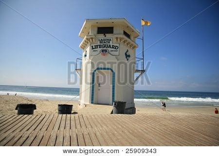 "world famous ""laguna beach"" life guard station"