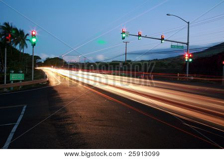time laps aka bulb exposure of the