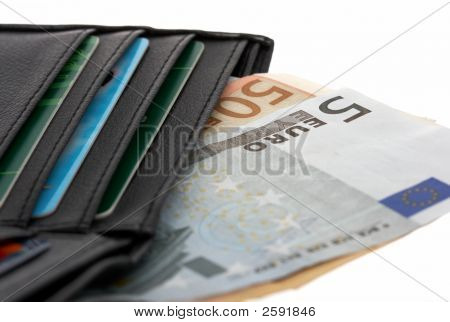 Euro And Wallet