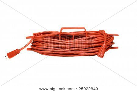safety orange extension cord
