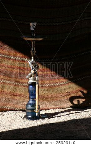 Sheesha, a traditional Egyptian water-pipe