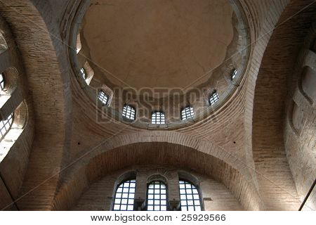 Byzantine church of Holy Saviour of the Chora Monastery also known as the Karyie Camii in Istanbul, Turkey