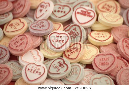 Love Heart Candy