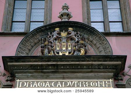 Schild von Prag