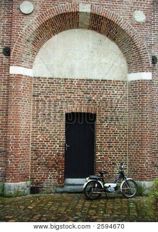 Bike By Wall