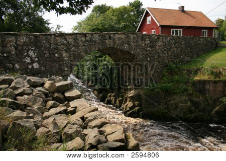 Old Bridge And House
