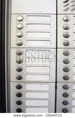 Botones de timbre