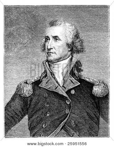 George Washington. Engraved image from a 1876 magazine.