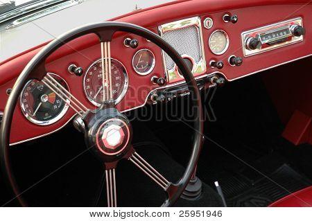Vintage Dashboard