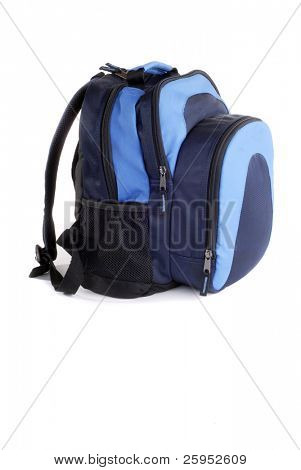 Volver a la escuela nueva mochila, (aislado)