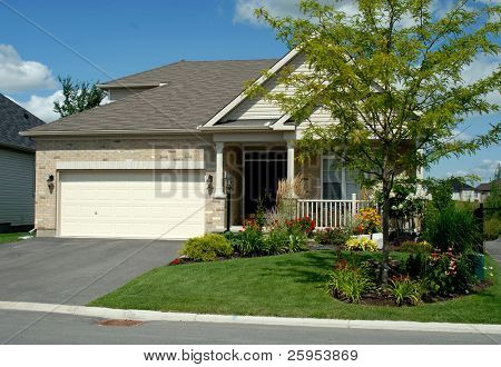 North American New  Style Executive Bungalow Home