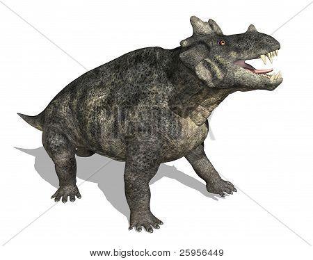 Estemmenosuchus Dinosaur