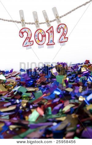 2012 New Year Celebration Concept