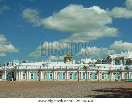 Katherine's Palace  tsarskoye Selo by St Petersburg, Russia