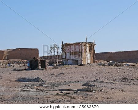 Homeless house in Egypt (Africa)