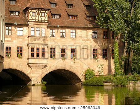 Nuremberg and its lovely buildings.