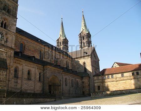 Cathedral in Bamberg, Bavaria, Germany, Europe