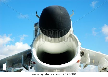 A-7 Corsair Fighter Jet