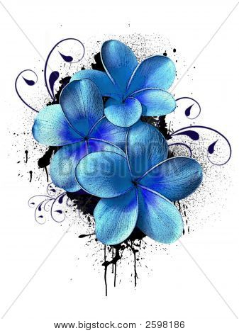 Floral Logo Or Ikon 4