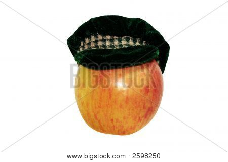 Apple In Male Hat
