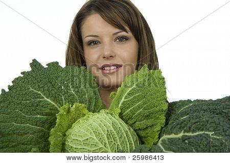 Beautiful Teenager with big kale