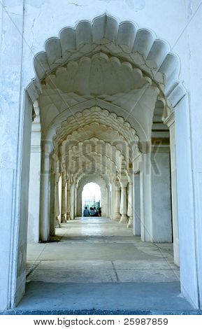 Passage of Bibi-ka-Maqbar, poor's man Taj Mahal, Aurangabad, India