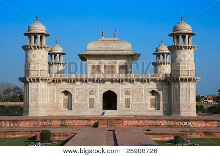 Itimad-ud-Daulah or Baby Taj in Agra,Utar, Pradesh,  India