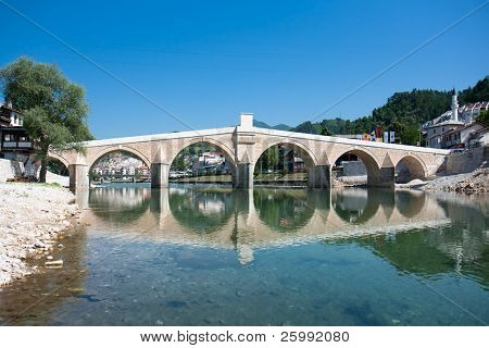 Old Bridge in Konjic, Bosnia and Herzegovina