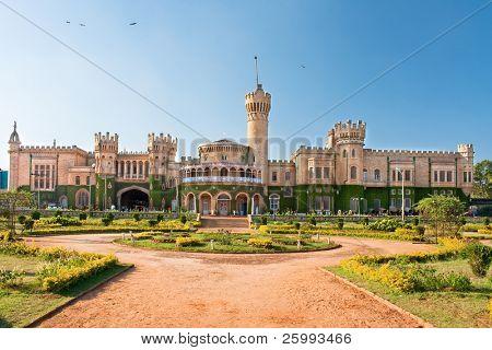 The Bangalore palace in windsor castle stile , southern Karnataka, India