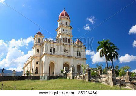 El Cobre very famous church 13km from  Santiago de Cuba, Cuba