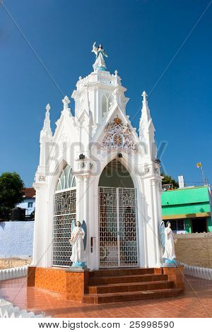 Chapel of Catholic  Church in Kanyakumari,Tamil Nadu,  Southern India