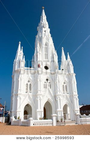 Catholic  Church in Kanyakumari,Tamil Nadu,  Southern India