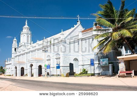 Catholic  Church in village near  Kanyakumari,Tamil Nadu,  Southern India