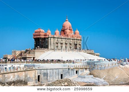 Swami Vivekananda memorial, Mandapam, Kanyakumari, Tamil Nadu, India