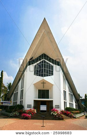 Catholic  Church in Ernakulam,Cochin ,Kerala,  Southern India
