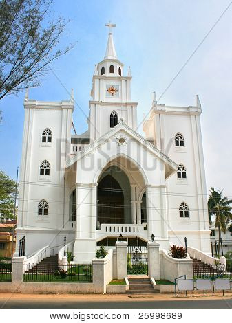 Church in Ernakulam,Cochin ,Kerala,  Southern India