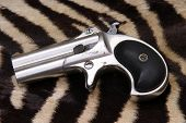 stock photo of derringer pistol  - Circa 1889 - JPG