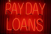stock photo of payday  - Neon Sign series   - JPG