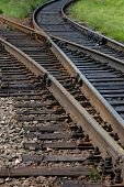 stock photo of train track  - Trans - JPG