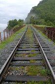 stock photo of transcontinental  - Old railroad bridge at the Circum - JPG
