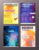 Flyer Design Business And Technology  Icons, Creative Template Design For Presentation, Poster, Cove poster